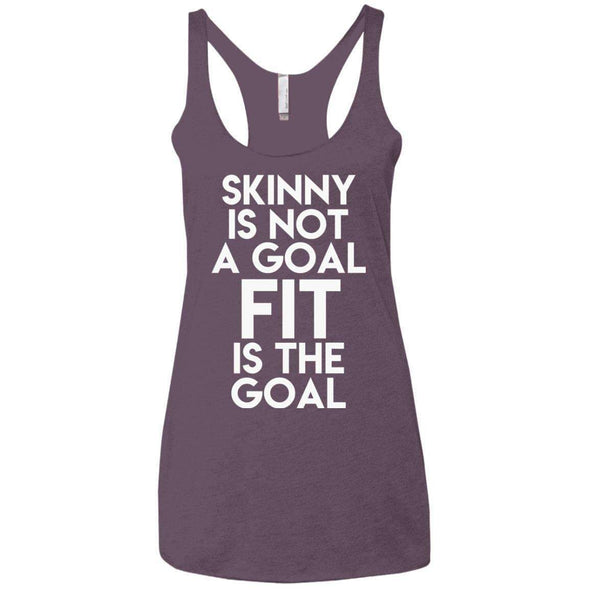 Fit is the Goal T-Shirts CustomCat Vintage Purple X-Small