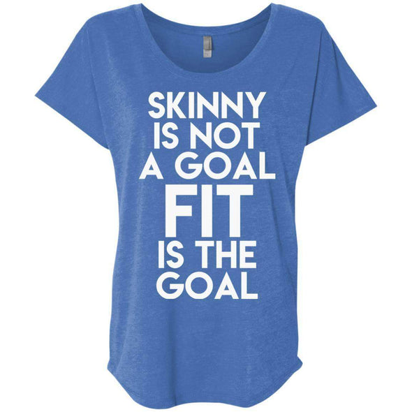 Fit is the Goal T-Shirts CustomCat Vintage Royal X-Small