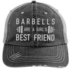 Girl's Best Friend Hats CustomCat Black/Grey One Size