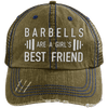 Girl's Best Friend Hats CustomCat Brown/Navy One Size