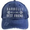 Girl's Best Friend Hats CustomCat Navy/Navy One Size