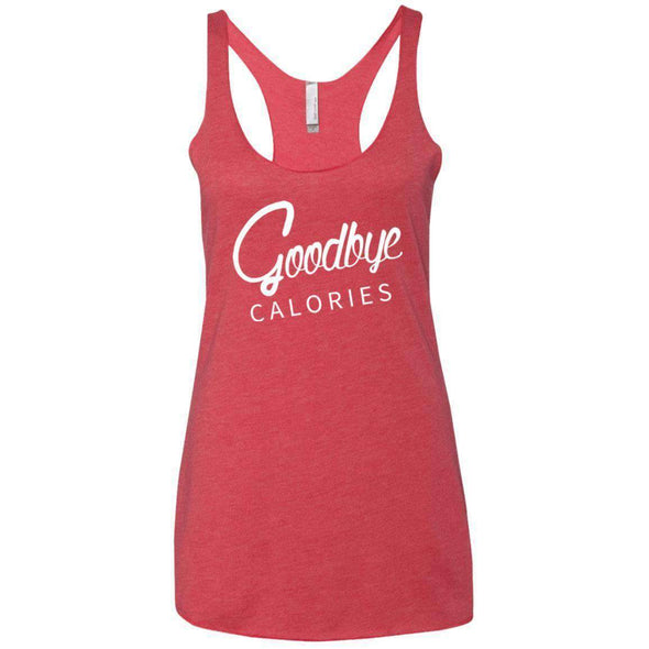 Goodbye Calories T-Shirts CustomCat Vintage Red X-Small