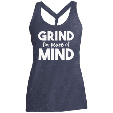 Grind for Peace of Mind T-Shirts CustomCat Navy/Royal Cosmic X-Small