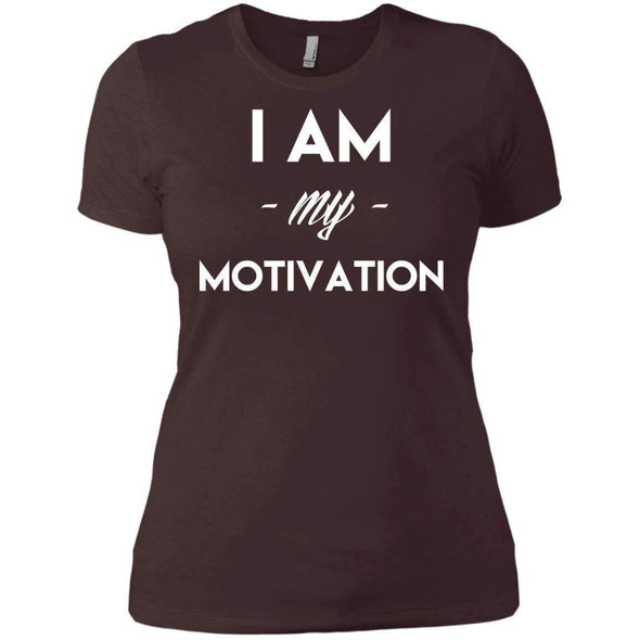 I am my Motivation T-Shirts CustomCat Dark Chocolate X-Small