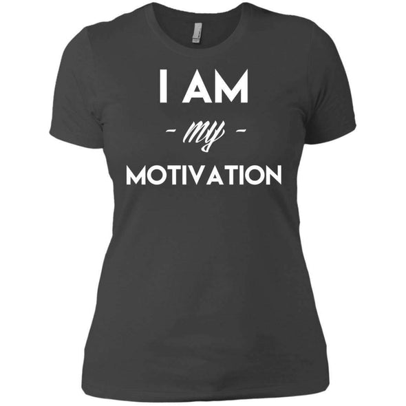 I am my Motivation T-Shirts CustomCat Heavy Metal X-Small