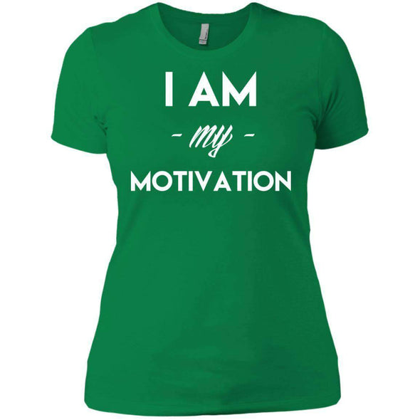 I am my Motivation T-Shirts CustomCat Kelly Green X-Small