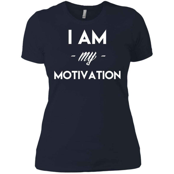 I am my Motivation T-Shirts CustomCat Midnight Navy X-Small
