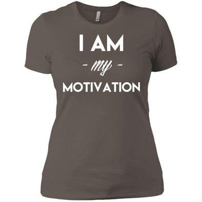 I am my Motivation T-Shirts CustomCat Warm Grey X-Small