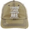 I know I Said Hats CustomCat Khaki/Navy One Size