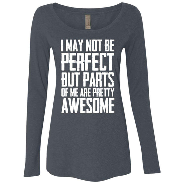 I may not be perfect T-Shirts CustomCat Vintage Navy Small
