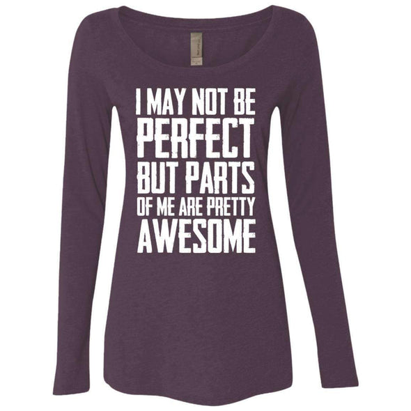 I may not be perfect T-Shirts CustomCat Vintage Purple Small