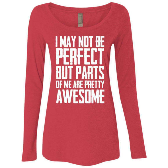I may not be perfect T-Shirts CustomCat Vintage Red Small