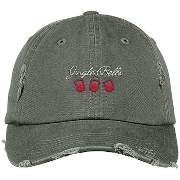 Jingle Bells Cap Apparel CustomCat