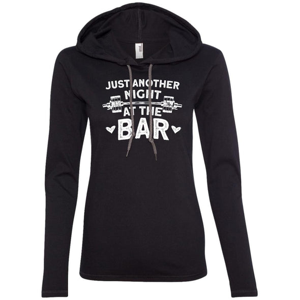 Just Another Night in the Bar T-Shirt Hoodie T-Shirts CustomCat Black/Dark Grey S