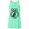 Obsessive Cardio Disorder Apparel CustomCat B8800 Bella + Canvas Flowy Racerback Tank Mint X-Small
