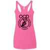 Obsessive Cardio Disorder Apparel CustomCat NL6733 Next Level Ladies' Triblend Racerback Tank Vintage Pink X-Small