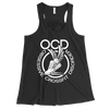 Obsessive Crossfit Disorder Apparel CustomCat B8800 Bella + Canvas Flowy Racerback Tank Black X-Small