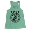 Obsessive Crossfit Disorder Apparel CustomCat B8800 Bella + Canvas Flowy Racerback Tank Mint X-Small