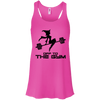 Off to the Gym Apparel CustomCat B8800 Bella + Canvas Flowy Racerback Tank Neon Pink X-Small