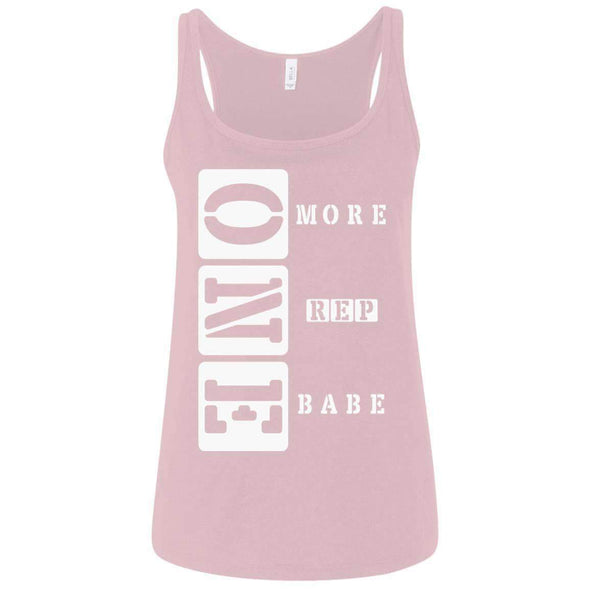 ONE More Rep Babe T-Shirts CustomCat Pink S