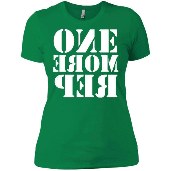ONE MORE REP T-Shirts CustomCat Kelly Green X-Small
