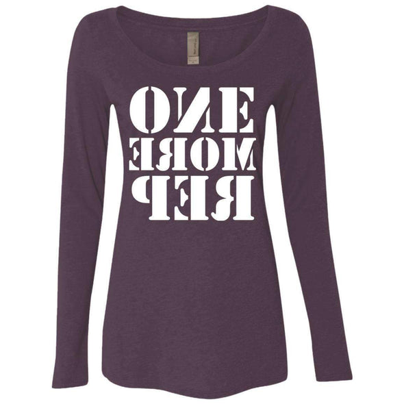 ONE MORE REP T-Shirts CustomCat Vintage Purple Small