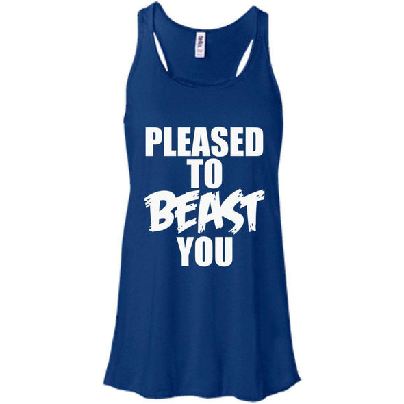 Pleased To Beast You T-Shirts CustomCat True Royal X-Small