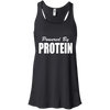 Powered by Protein Apparel CustomCat B8800 Bella + Canvas Flowy Racerback Tank Black X-Small