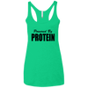 Powered by Protein Apparel CustomCat NL6733 Next Level Ladies' Triblend Racerback Tank Envy X-Small