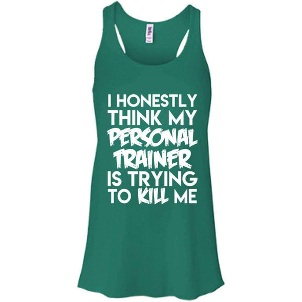 PT trying to kill me T-Shirts CustomCat Kelly X-Small