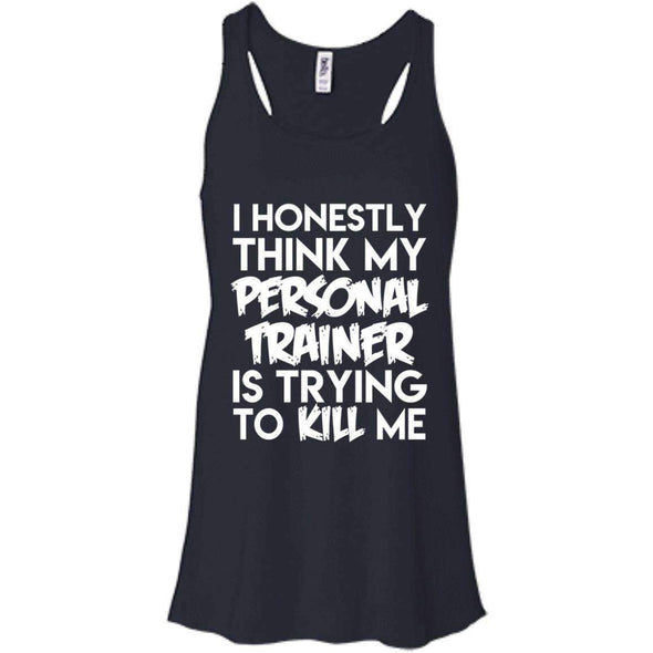 PT trying to kill me T-Shirts CustomCat Midnight X-Small
