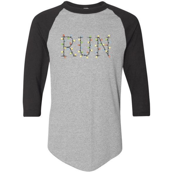 Run-Lights-fianl Apparel CustomCat Raglan Jersey Athletic Heather/Black S