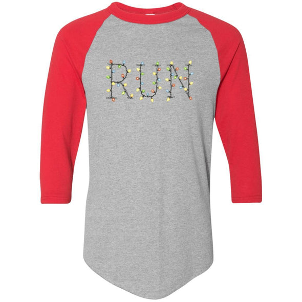 Run-Lights-fianl Apparel CustomCat Raglan Jersey Athletic Heather/Red S