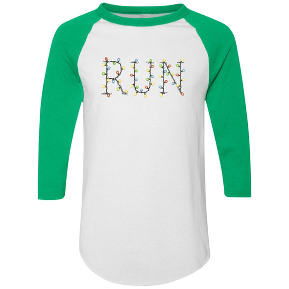 Run-Lights-fianl Apparel CustomCat Raglan Jersey White/Kelly S