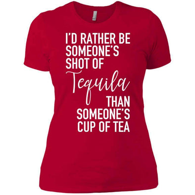 Someone's Shot of Tequila T-Shirts CustomCat Red X-Small