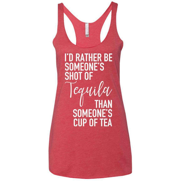 Someone's Shot of Tequila T-Shirts CustomCat Vintage Red X-Small