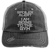 Spoiler Alert Hats CustomCat Black/Grey One Size