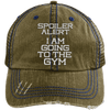 Spoiler Alert Hats CustomCat Brown/Navy One Size