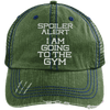 Spoiler Alert Hats CustomCat Dark Green/Navy One Size