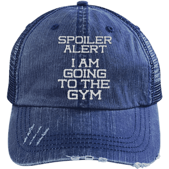 Spoiler Alert Hats CustomCat Navy/Navy One Size
