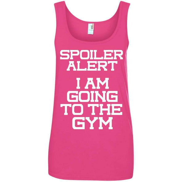 Spoiler Alert T-Shirts CustomCat Hot Pink Small