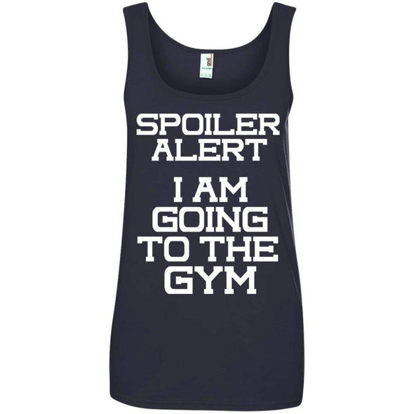 Spoiler Alert T-Shirts CustomCat Navy Small