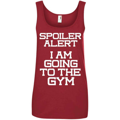 Spoiler Alert T-Shirts CustomCat Red Small