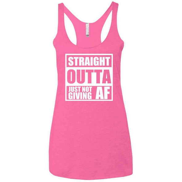 Straight Outta Giving AF T-Shirts CustomCat Vintage Pink X-Small