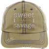 Sweet & Savage Hats CustomCat Khaki/Navy One Size