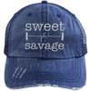 Sweet & Savage Hats CustomCat Navy/Navy One Size