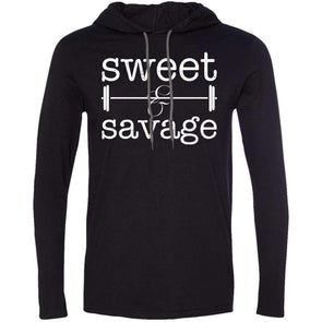 Sweet & Savage T-Shirts CustomCat Black/Dark Grey Small
