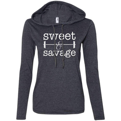 Sweet & Savage T-Shirts CustomCat Heather Dark Grey/Dark Grey Small