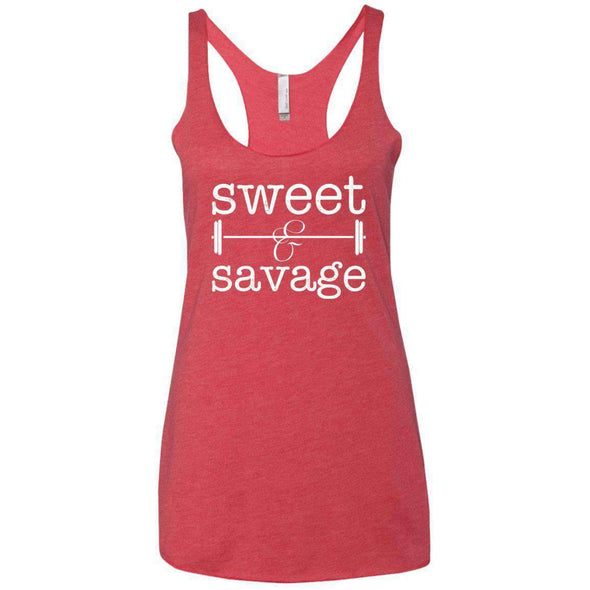 Sweet & Savage T-Shirts CustomCat Vintage Red X-Small