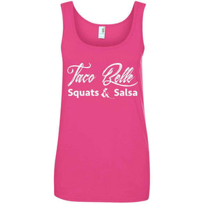 Taco Belle T-Shirts CustomCat Hot Pink S